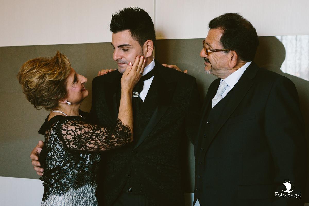 foto famiglia matrimonio in sicilia