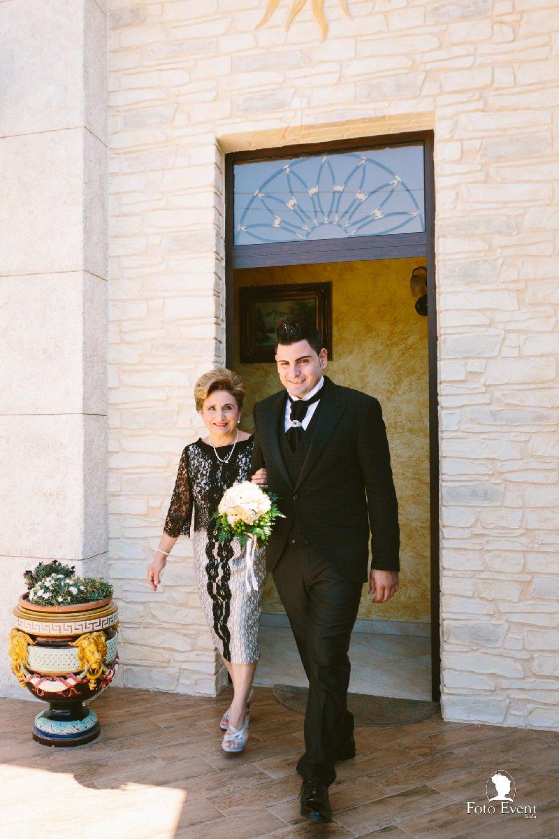 sposo con la madre