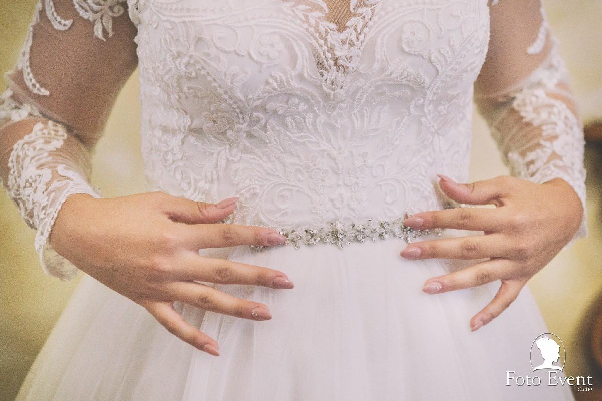 dettagli abito sposa sicilia