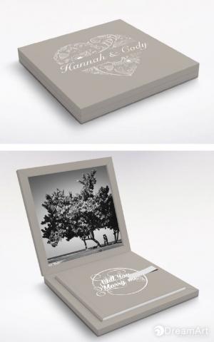 album con scatola