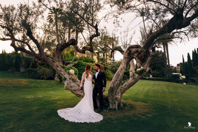 Daniel e Maria Concetta un matrimonio nella splendida location di Villa Isabella a Caltanissetta