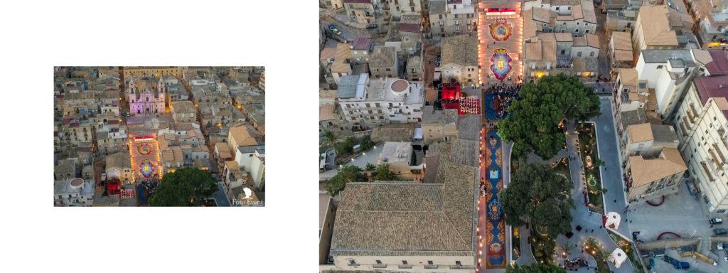 dolce e gabbana a Palma di montechiaro in veduta drone