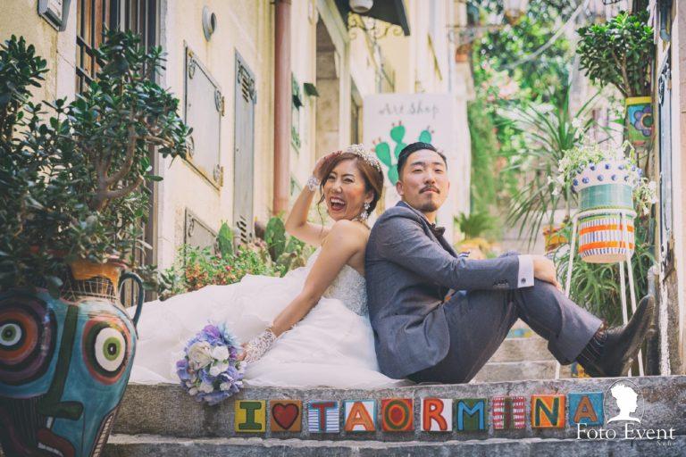 Sayaka e Keichii – Elopement Taormina